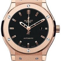 Hublot 42mm Gold Classic Fusion