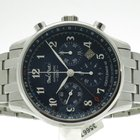 "Paul Picot ""Gentleman Chrono GMT"" steel bracelet"