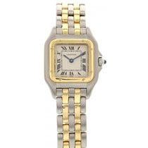 Cartier Ladies Cartier Panthere 18k Yellow Gold & SS