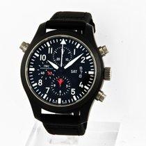 IWC Pilot's Top Gun Double Chronograph Rattrapante Keramik
