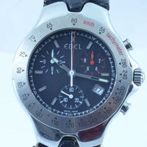 Ebel Herren Sportwave Chronograph Quartz Stahl/stahl 39mm Mit...