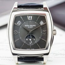 Patek Philippe Gondolo Calendario 18K White Gold Grey Dial