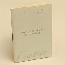 Cartier International Guarantee Certificate Booklet