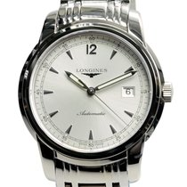 Longines Saint Imier Stainless Steel Silver Automatic L2.766.4...