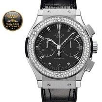 Hublot - Classic Fusion  Titanium Chronograph Diamonds