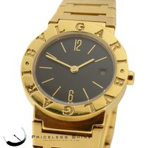 Bulgari Ladies Solid 18k Yellow Gold (96.9gr) Watch With Date...