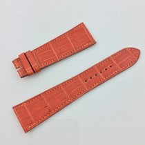 Hermès Paris Uhren Armband  Band Kroko Orange 23 / 17