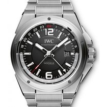 IWC Schaffhausen IW324402 Ingenieur Dual Time Black Arabic...
