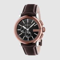 Gucci Men's YA101202 Gucci G-Chrono Swiss Quartz Brown Watch