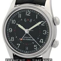 Girard Perregaux Traveller  GMT Alarm Stainless Steel 38mm...
