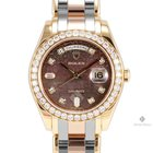 Rolex Day-Date Yellow Gold Masterpiece Dark Mother of Pearl...
