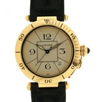 Cartier Pasha 1989 In Yellow Gold 18kt, 39mm