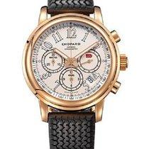Chopard 161274-5002 Mille Miglia 43mm in Rose Gold - on Black...