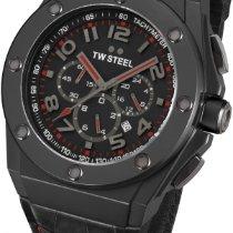 TW Steel CEO Tech Chrono TWCE4009 Sportliche Herrenuhr XXL Uhr