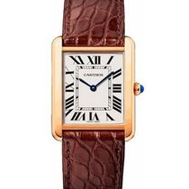 Cartier Tank Solo Large Size Quartz in Rose Gold