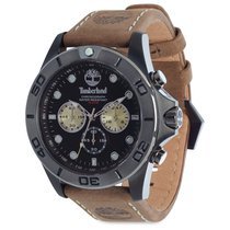 Timberland Watches Northfield Men's Black Face Brown Band...