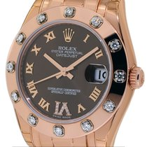 Rolex Datejust 34mm Special Edition Masterpiece 18k RG...