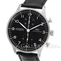 IWC Portugieser Chronograph Black Dial Steel 40.9MM (2015)