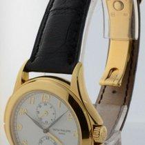 Patek Philippe Mens Travel Time 5134J 18k Gold Mechanical...