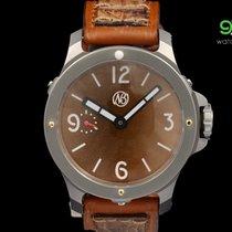 Ennebi Ref. 9663 Fondale Toscana Titanium Brown Dial