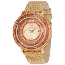 Versace Venus Silver Dial Ladies Diamond Watch