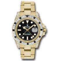 Rolex GMT Master II Yellow Gold 116758SANR