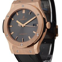 Hublot 511.OX.7081.LR Classic Fusion Racing Gray 45mm in Rose...