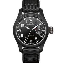 IWC Big Pilot Top Gun Automatic Black Dial Mens Watch IW502001