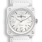 Bell & Ross AVIATION BR03 WHITE CERAMIC