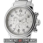 Blancpain Leman  Flyback Chronograph 38mm Stainless Steel...