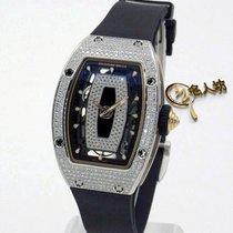 Richard Mille [NEW+RARE] RM 007 White Gold Full Case Diamond