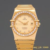 Omega Constellation  18K  Gold  Diamonds  Box