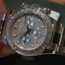 Rolex Cosmograph Daytona in Platinum & Diamond - 116576 TBR
