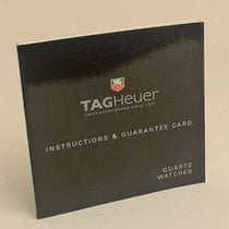 TAG Heuer Quartz Watches Manual Info Booklet