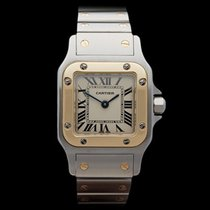 Cartier Santos Stainless Steel/18k Yellow Gold Ladies 1567
