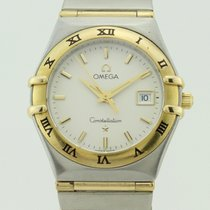 Omega Constellation Quartz Steel and 18K Gold Lady