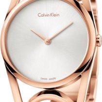 ck Calvin Klein round K5U2M646 Damenarmbanduhr Schmuckband