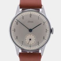 Stowa 1940 New-Old-Stock Oversize Silver Dial