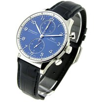 IWC 371432 Portuguese Chrono Automatic in Steel - Limted...
