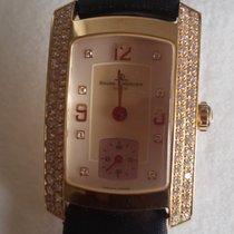 Baume & Mercier Hampton 65334 18K  Gold Diamond  MOP