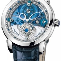 Ulysse Nardin Royal Blue Mystery Tourbillon