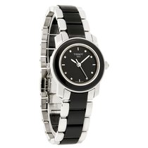 Tissot Cera Diamond Ladies Ceramic Swiss Watch T064.210.22.056.00