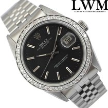 Rolex Datejust 16250 black dial 1979's