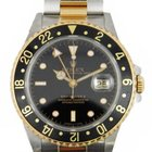 Rolex 18k yellow gold and stainless steel GMT Master II
