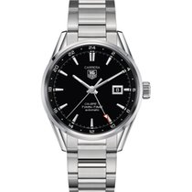 TAG Heuer CALIBRE 7 TWIN TIME AUTOMATIC WATCH 41 MM
