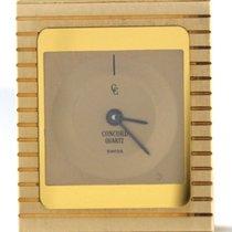 Concord Retro 18k Yellow Gold 20mm Quartz Watch 50.76.655 71.3g