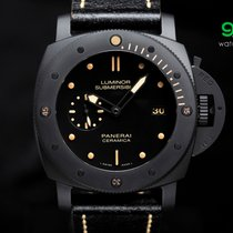 Panerai Pam 508 Luminor Submersible 3-days Black Ceramic 1950...