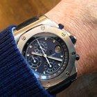 Audemars Piguet Offshore Chrono Steel Blue Dial  25770S...