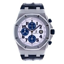 오드마피게 (Audemars Piguet) AP Royal Oak Offshore Navy Chronograph...