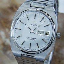 Omega Seamaster Swiss Made 1970s Vintage Stainless Men's...